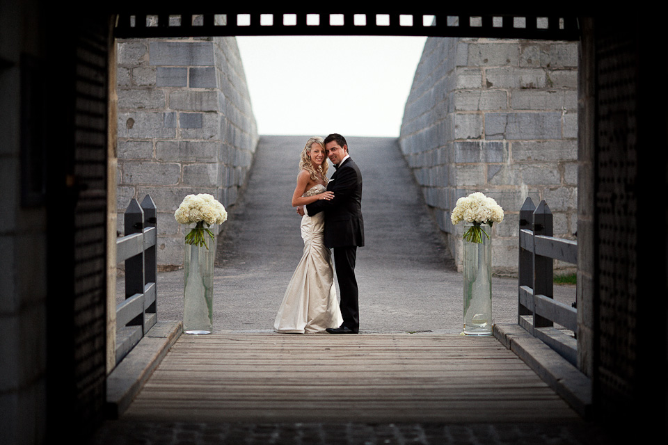 toronto wedding decor at old fort henry rachel a