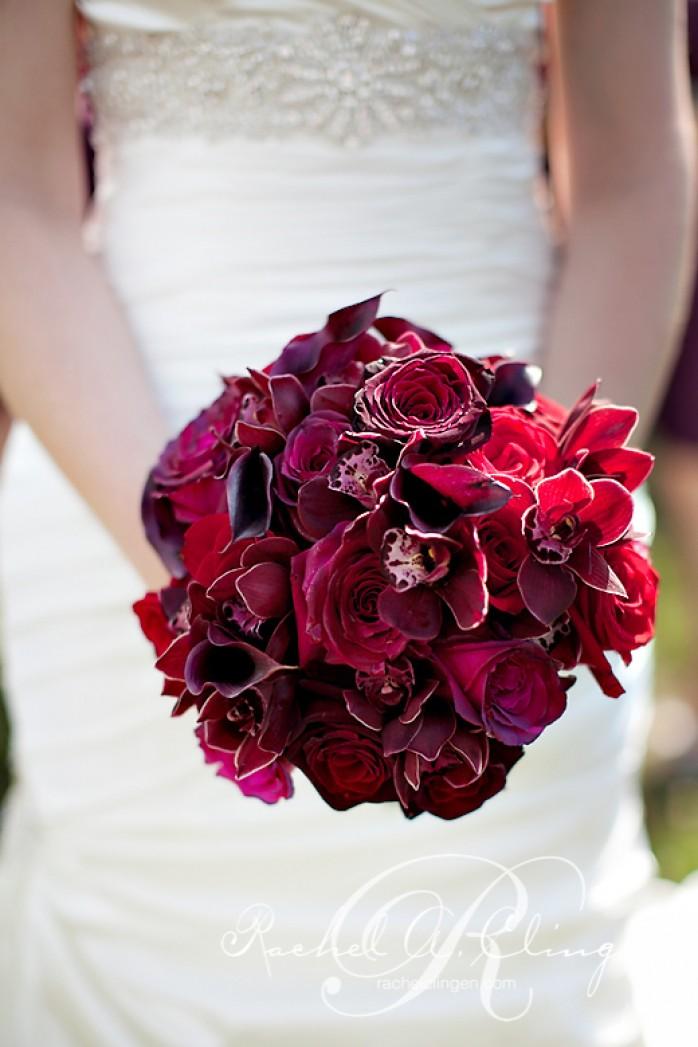 Bridal bouquet at Chateau Des Charmes Niagara