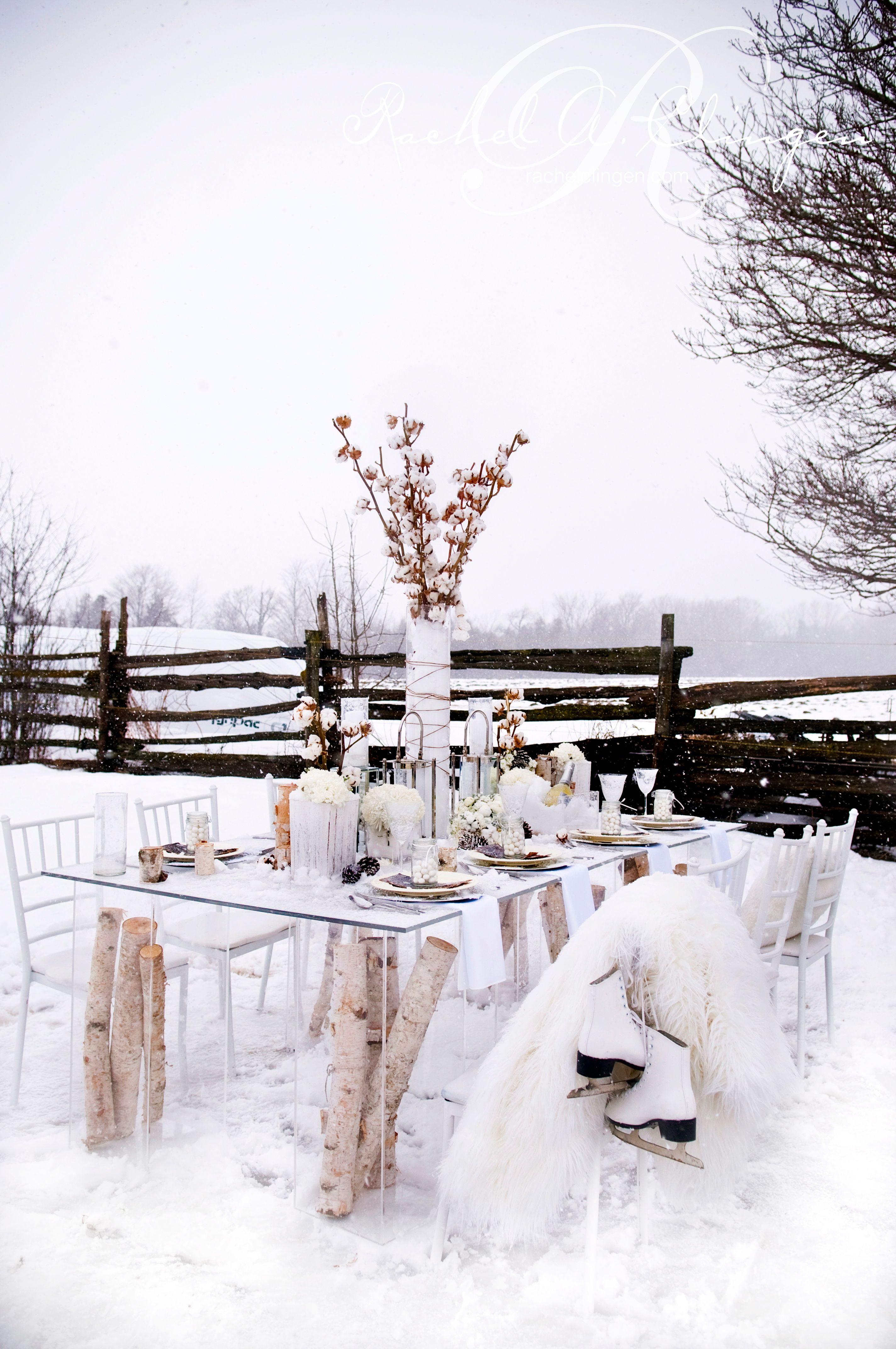 Winter Wedding Decor Flowers Toronto Muskoka - Wedding Decor Toronto ...
