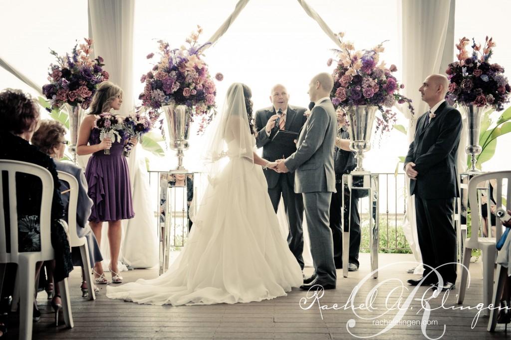 Wedding decor at Palais Royale Toronto