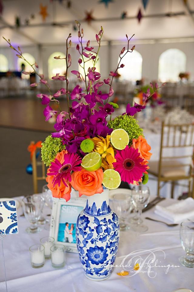 Mexican Inspired Wedding At Royal Ambassador - Wedding Decor ...