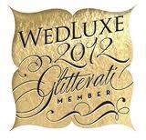 WedLuxe 2012 Glitterati Member