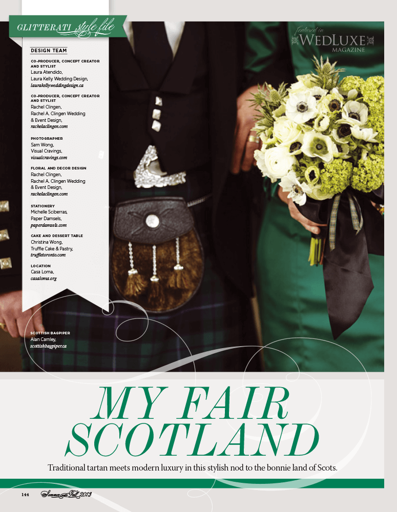 My Fair Scotland Casa Loma Wedding Toronto
