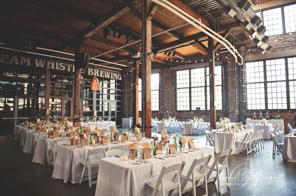 A Vintage Wedding At Steam Whistle Brewery Rachel A
