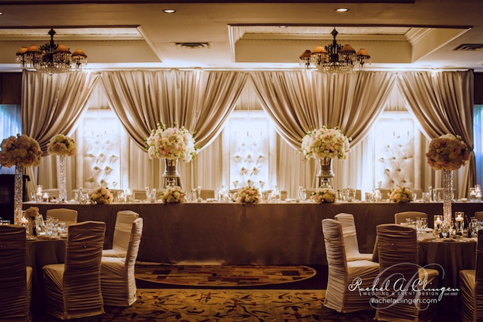 Blog wedding decor toronto rachel a clingen wedding for Backdrops wedding decoration
