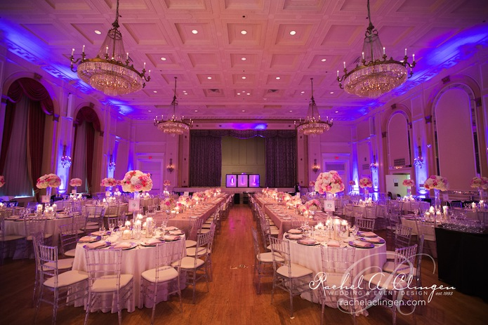 A beautiful indian wedding at the royal york hotel for Hotel wedding decor