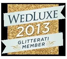 WedLuxe 2013 Glitterati Member