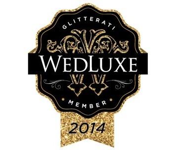 WedLuxe 2014 Glitterati Member