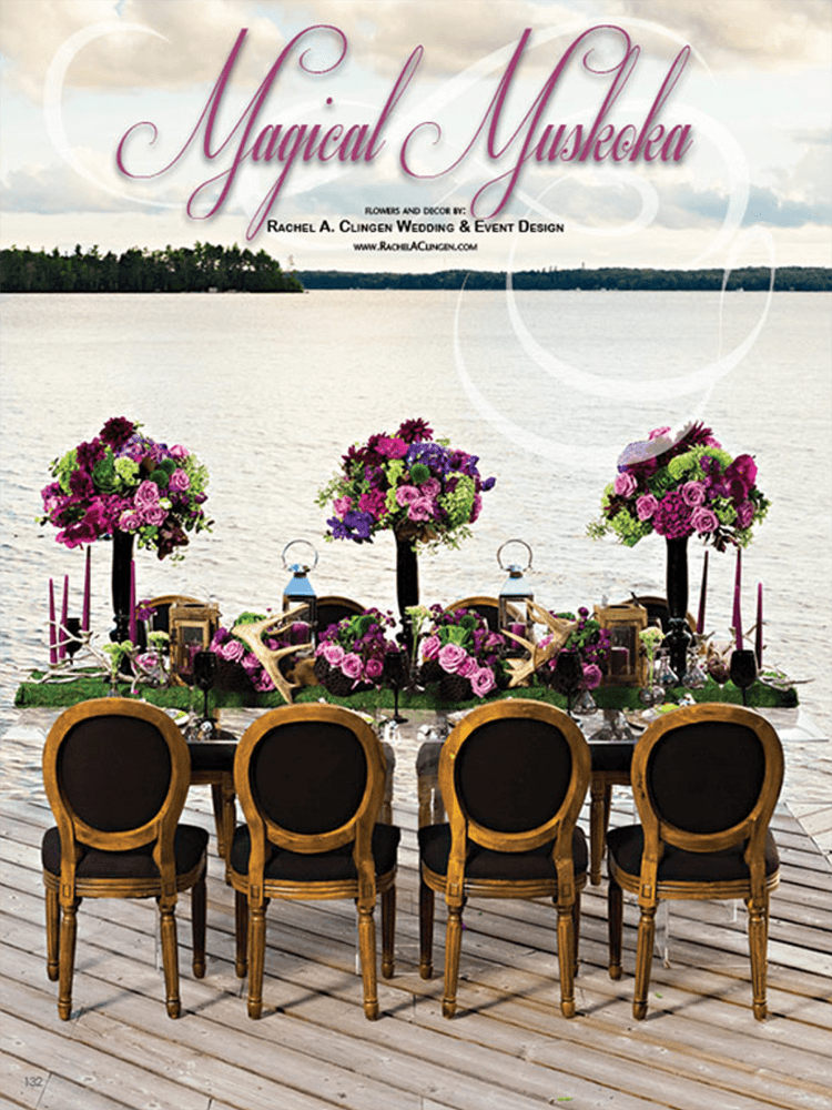 A Magical Muskoka Wedding by Rachel A. Clingen