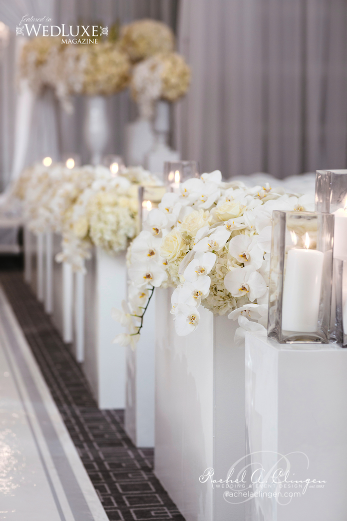 Aria Room Four Seasons Hotel Toronto Wedding Decor