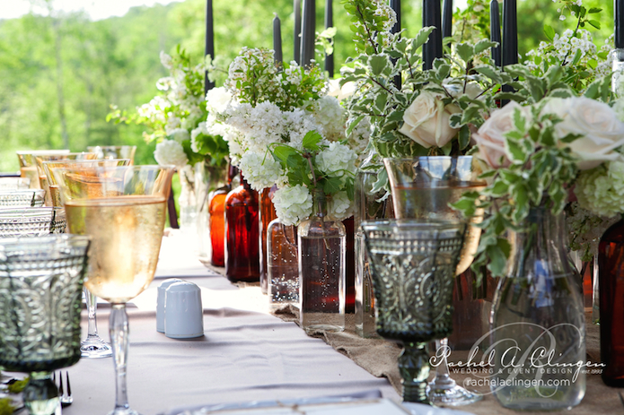 Rustic Event Flowers