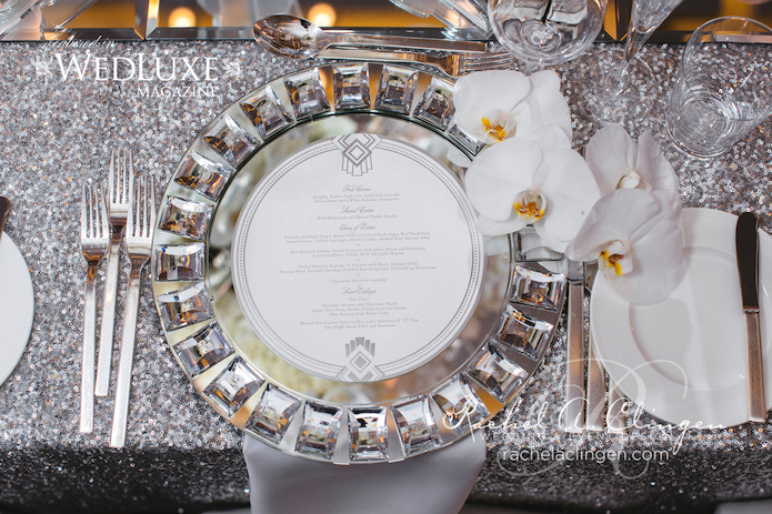 Crystal Charger Plate Rentals Toronto