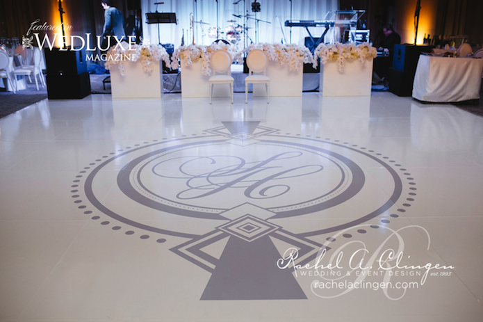 Custom Dance Floor Rachel A. Clingen
