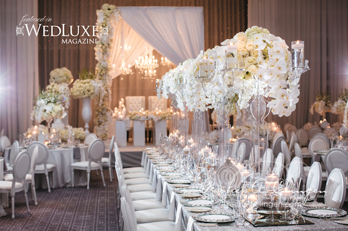 luxury wedding flowers decor toronto rachel a clingen