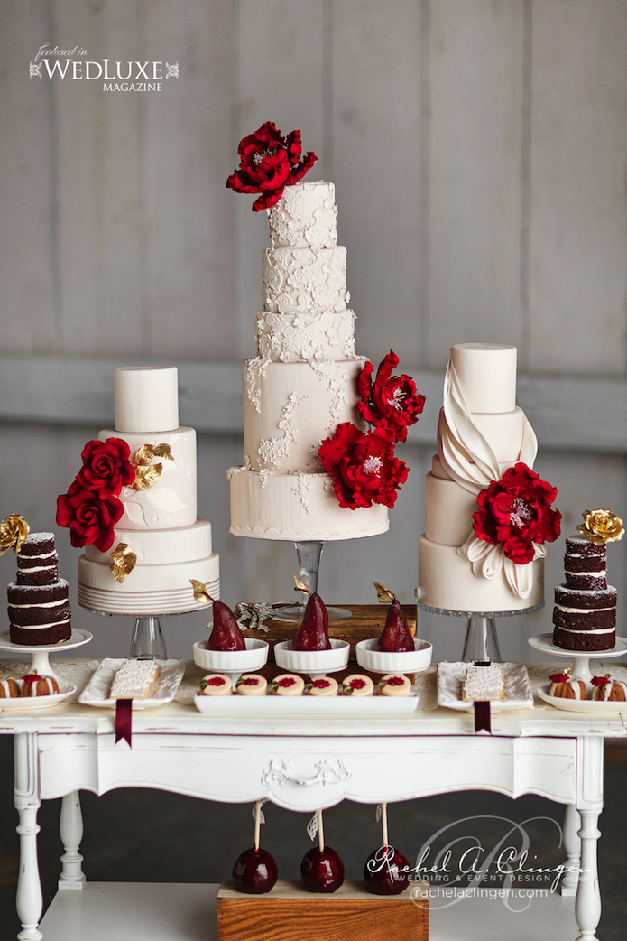 Autumn Wedding Cakes Toronto