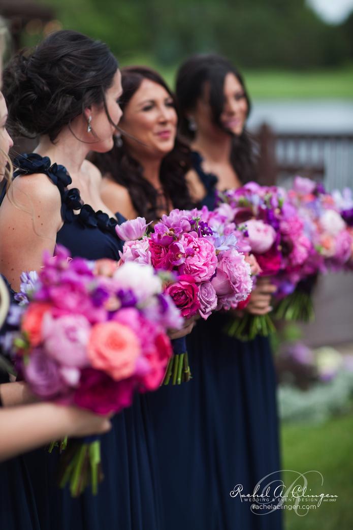 Purple Wedding Flowers Bouquets Toronto