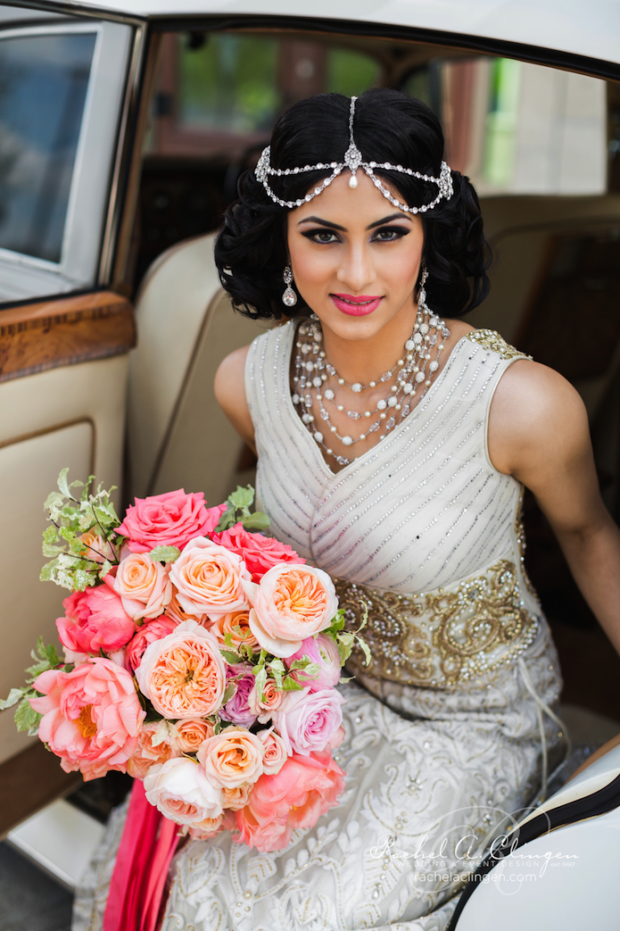 South Asian Wedding Flowers Bouquets