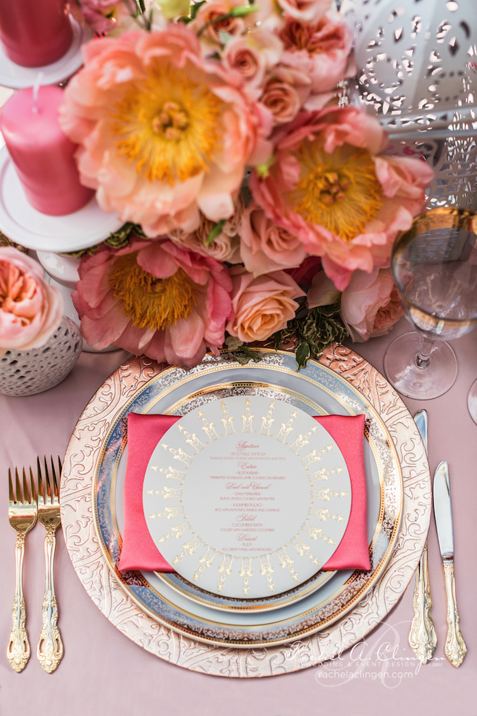Wedding Decor Toronto Placesetting