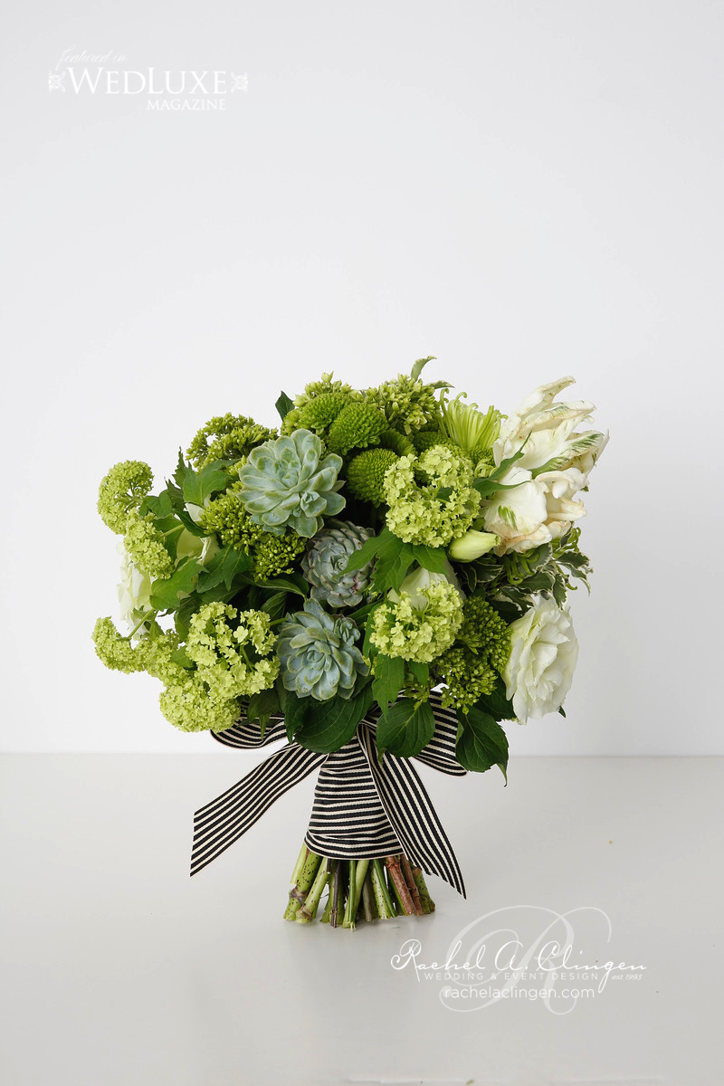 Green Wedding Flowers Bouquets Toronto
