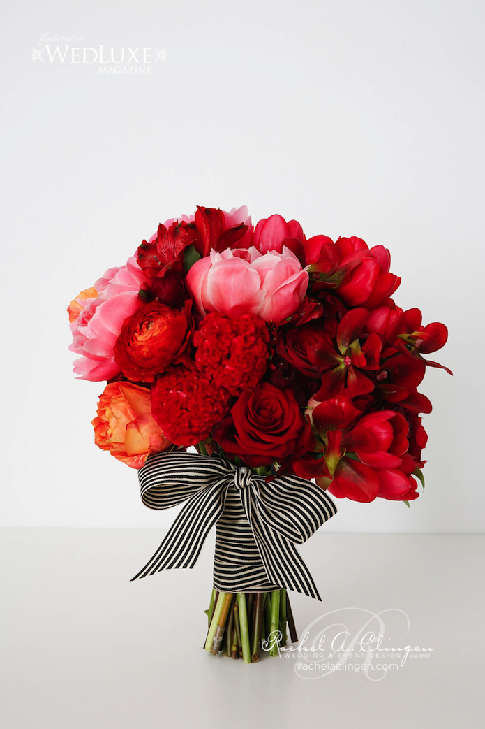 Red Wedding Flowers Bouquets Toronto