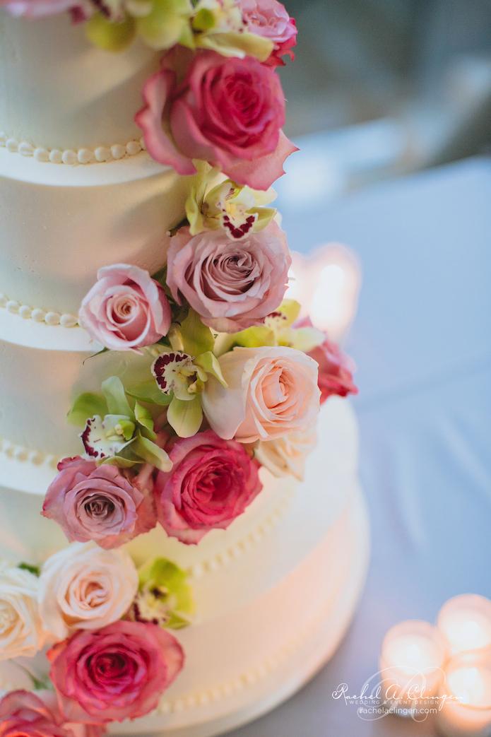 Wedding Cake Flowers Decor