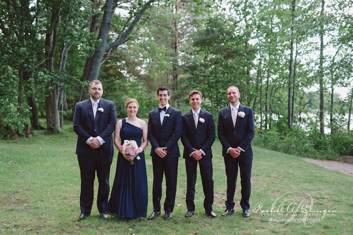 Bridal Party Muskoka weddings