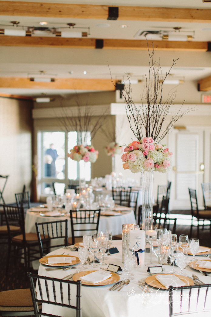 Muskoka Wedding Flowers Decor Boathouse