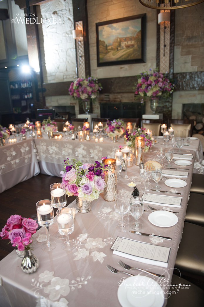 Ancaster Old Mill Weddings Head Table Decor
