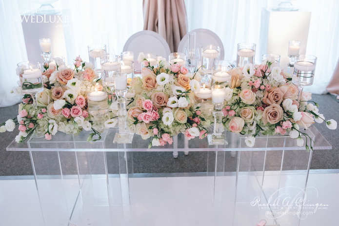 Headtable Wedding Flowers