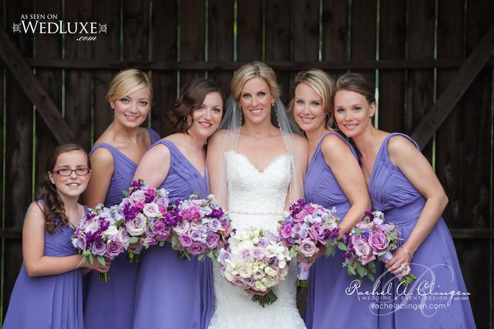 Lavender Purple Wedding Bouquets Flowers