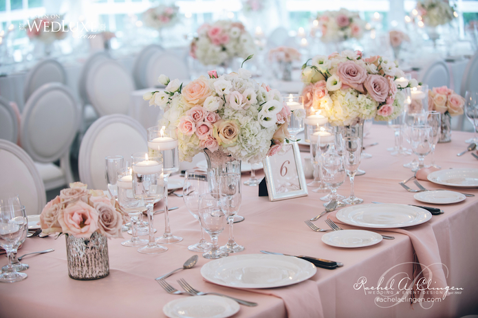 Pink Wedding Flowers Decor Toronto