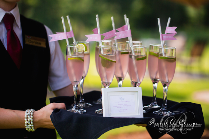 Pink Wedding Signature Drinks