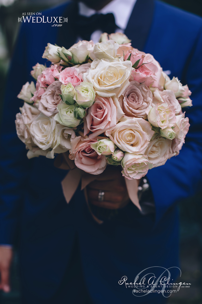 Soft Pink Wedding Flowers Toronto