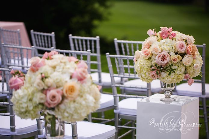 Wedding Aisle Flowers Rachel A. Clingen