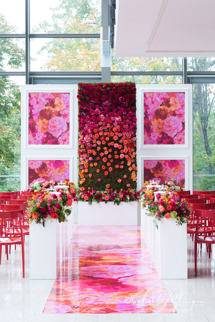 Wedding Floral Walls Toronto
