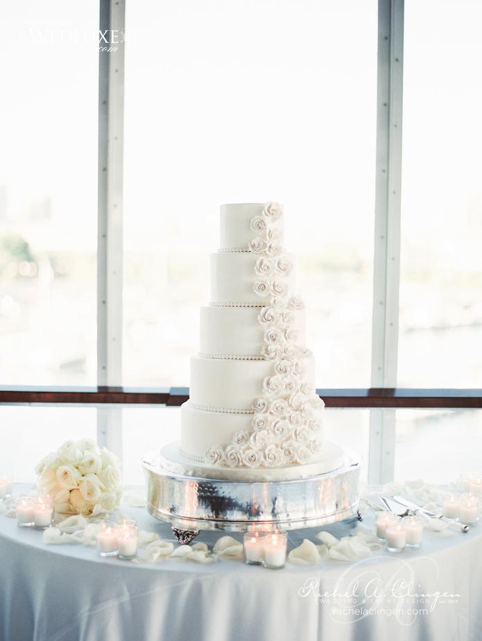 White Wedding Cake Toronto