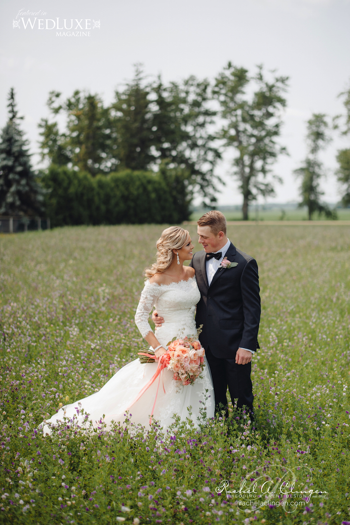 Caleb Chelsie Country Wedding