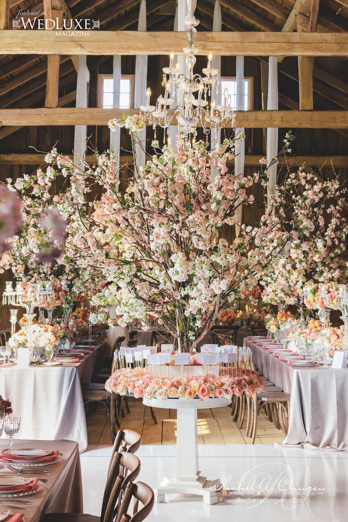 Cherry Blossom Wedding By Rachel A. Clingen