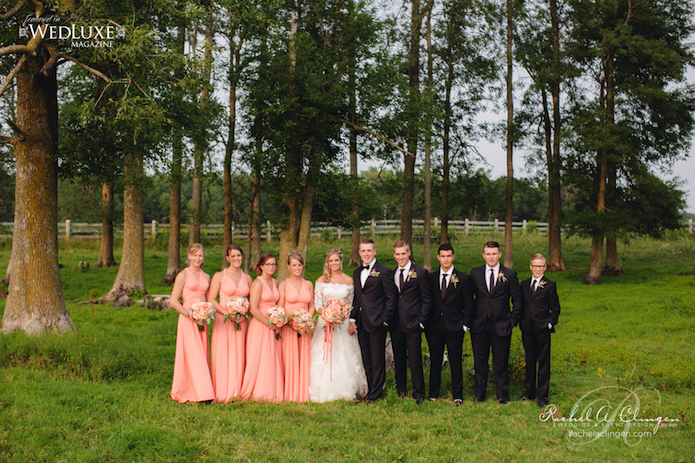 Country Weddings Bridal Party