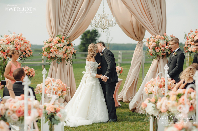 Luxury Country Weddings Rachel Clingen
