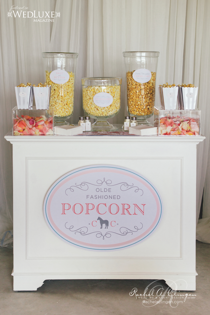Popcorn Station Wedding