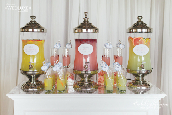 Wedding Lemonade Station