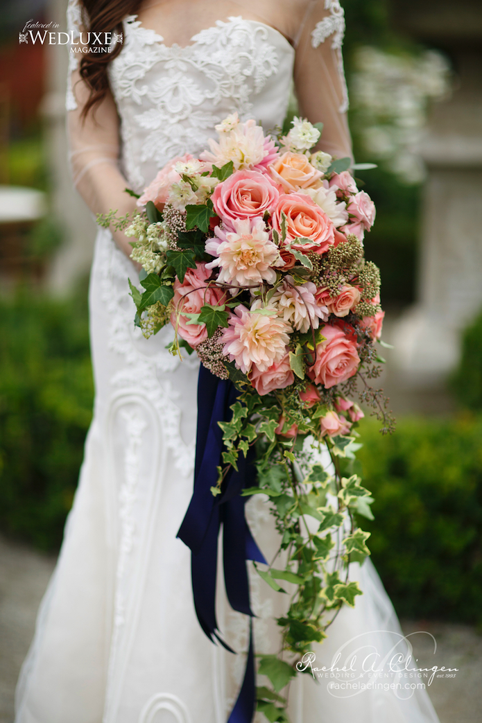 Casquading Bouquet Flowers Rachel A. Clingen