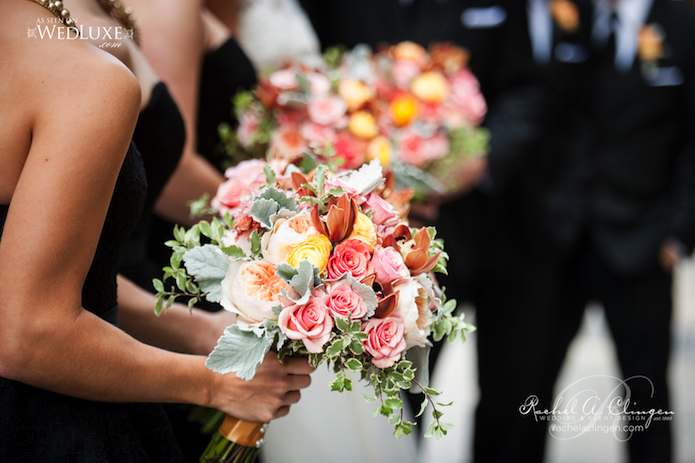 Wedding Coral Flowers Bouquets Toronto