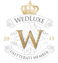 WedLuxe 2015 Glitterati Member