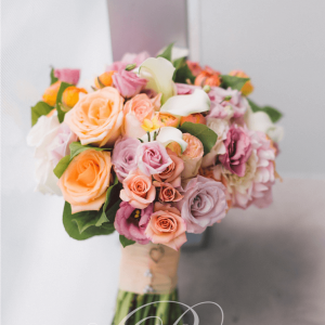 Elegant bridal bouquet by Rachel A. Clingen weddings