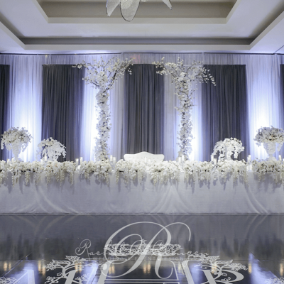 Elegant Draping Backdrop