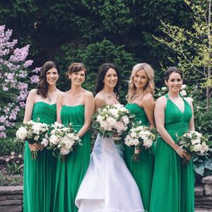 Exotic bridal party bouquets Rachel A. Clingen wedding design flowers Toronto