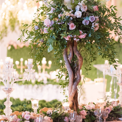 Floral Tree Centerpiece Rachel A Clingen