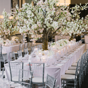 Gorgeous cherry blossom wedding centerpieces Toronto